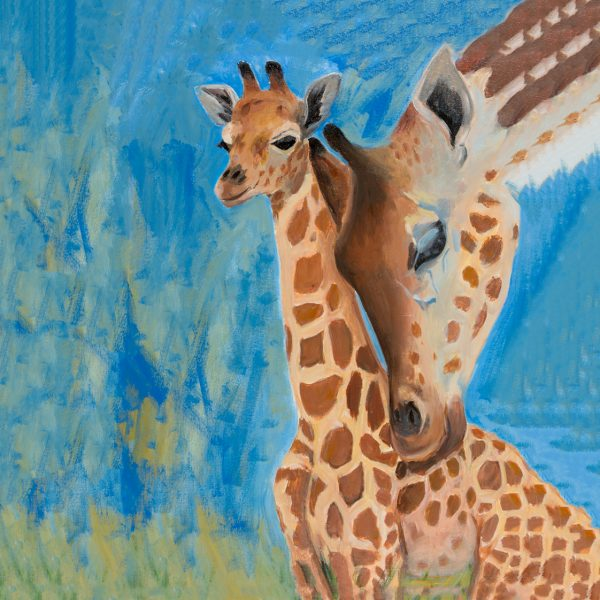 coaster-art-giraffe