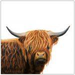 coaster-art-highland-bull-portrait