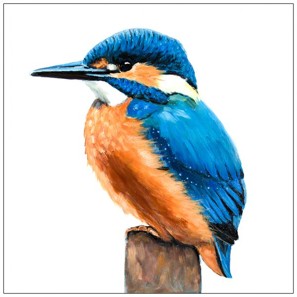 coaster-art-kingfisher-on-short-stump