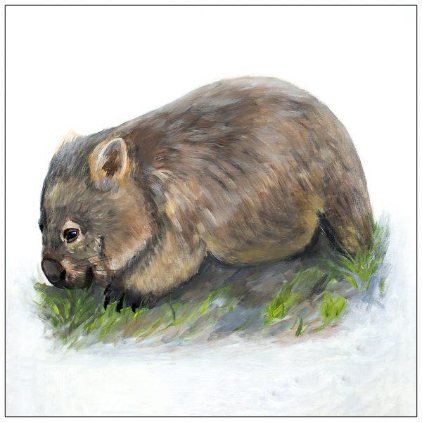 coaster-art-wombat