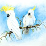 placemat-cockatoo-pair