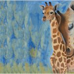 placemat-giraffe