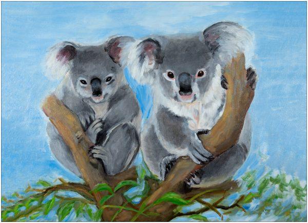 placemat-koala-pair