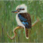 placemat-kookaburra-green-background