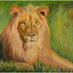 placemat-lion