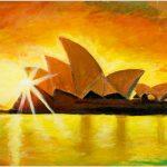 placemat-opera-house-sunset