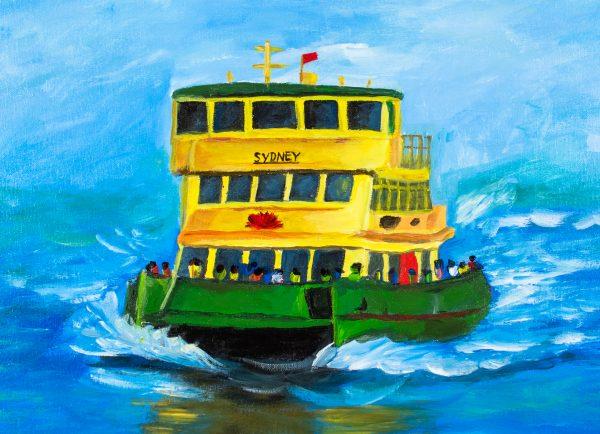 placemat-sydney-ferry