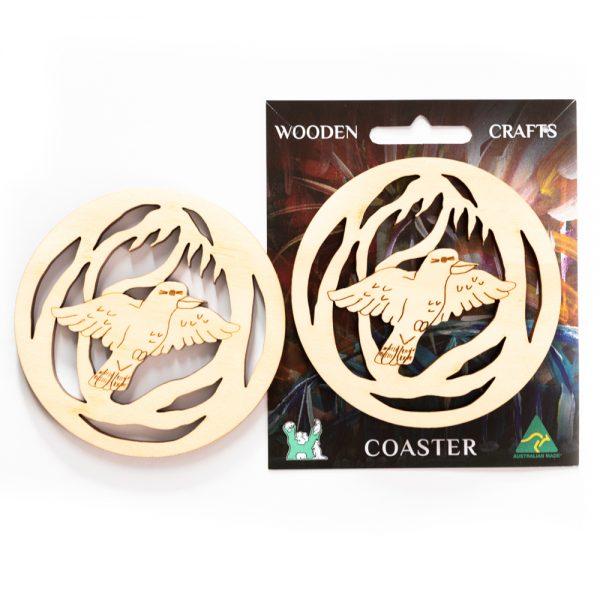 wooden-coaster-kookaburra-on-card