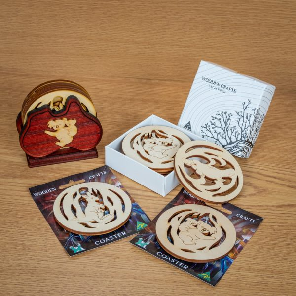 wooden-coasters-natural-timber-australian-animals