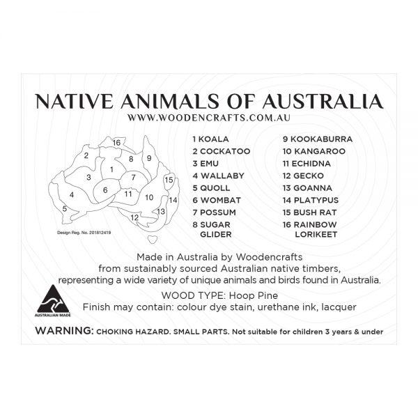 Single Australia Map Puzzle – brian print (1)