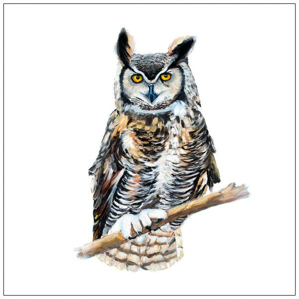coaster-art-owl-white-background