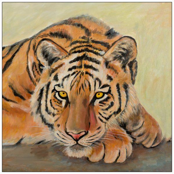 coaster-art-tiger