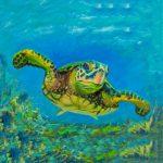 coaster-art-turtle