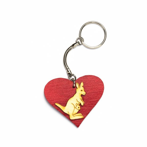 keyring-kangaroo-heart
