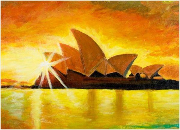 print-opera-house-sunset