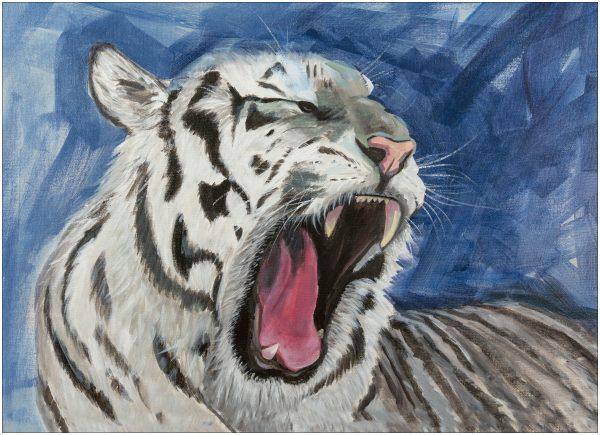print-white-tiger-portrait