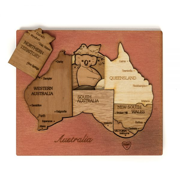 wood-puzzle-australia-double-layer-mixed-wood-cedar-background (a)